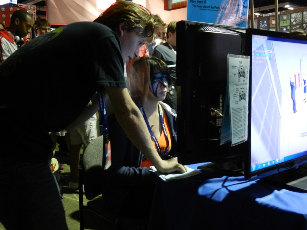 Teaching SpyParty at PAX 2013